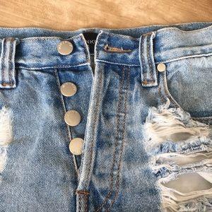 MINKPINK Shorts - Minkpink Jean shorts